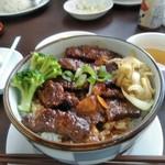 インドカレーレストラン マサラ - ビーフ丼