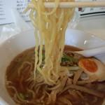 中華そば わたなべ - 麺