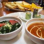 インドネパール料理 ミヤギディ - レディースセット。男性でも頼めました。
