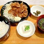 オリジン - 生姜焼定食 650円