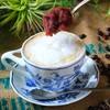 """ブラッスリー三幸 - ドリンク写真:小倉とホイップ入りラテの一度飲んだらクセになる新感覚""""飲むスイーツ"""""""