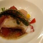 天久テラス - 鮮魚のカルパッチョ~沖縄近海で取れる鮮魚~。