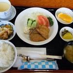 お食事処 ぱれっと - 料理写真:B定食(鰯フライ)@560