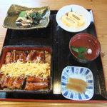 8502135 - 鰻定食(鰻重、大)2250円