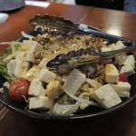 うま処 櫻 - 馬肉坦々豆腐サラダ