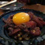 うま処 櫻 - 馬肉納豆