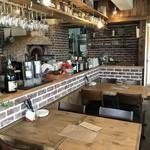 ヴェニーテ - 厨房前のテーブル席もリザーブ!(2018.4.30)