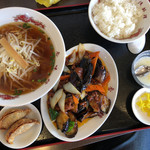 台湾料理香味館 - 料理写真:ランチメニュー750円