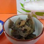 宝来軒 - 半チャーハン・ラーメンの小鉢