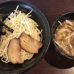 麺爺ラボ - 「つけ」油そば(大盛) ¥650