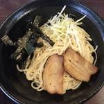 麺爺ラボ - 「つけ」油そば(大盛) ¥650 の麺