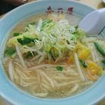 岳乃屋 - 塩野菜ラーメン@750円