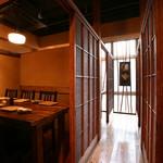 串天ぷら 段々屋 - 3、4階は個室宴会席