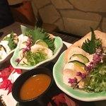 地鶏と完全個室 伊蔵 - 鶏ささみの雲丹ソース