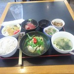 85028423 - Aランチ800円 ご飯は雑穀米で