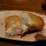 85028582 - 春子鯛の春巻。これは絶品。