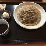 蕎麦正 まつい - ざるそば(辛味大根)