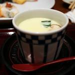 築地寿司清 - 「お楽しみ」の茶碗蒸し