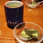 築地寿司清 - デザート(抹茶わらび餅)