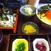 そば処 福住 - 料理写真:鮭親子セット1340円