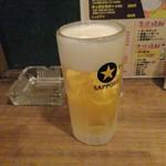弘明寺 ホルモン yawd - 生ビール
