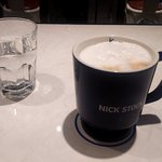肉が旨いカフェ NICK STOCK 横浜ポルタ店 - カプチーノ