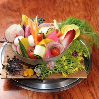 鮮度にこだわる厳選野菜!他には真似出来ない徹底管理を追及。