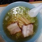 くるくる軒 - 料理写真:しおラーメン(\650)