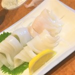 北海 - 180420金 東京 北海 スルメイカ刺し500円