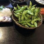 酒魚のぎ - 枝豆