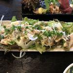 酒魚のぎ - 豆腐サラダ