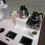 六花亭 - 無料のコーヒー