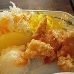 餃子の王将 - 鶏の唐揚げ