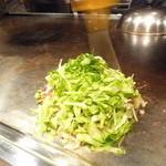 ヒロキ - きゃべつ焼き(麺なし)
