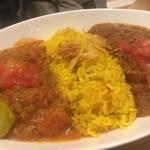 レインボウスパイス カフェチャイストール - 野菜マサラとチキンマサラ