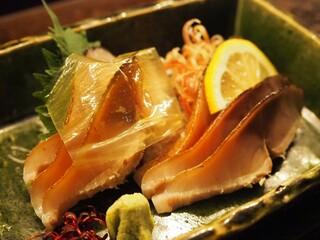 松玄 恵比寿 - 〆鯖 炙り