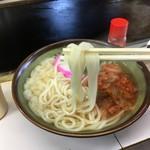 お好み焼 ぶうにゃん - これより細いうどんは香川県では見た事ない うどんは太ければイイって思われがち あくまで喉越しが重要 細い方が食べやすいにきまってる