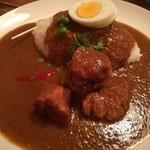 カレー食堂 リトルスパイス - 洋食屋風ポークカレー 最初甘口!