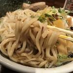 のスたOSAKA - 紀ノ川屋特製油そば(880円)麺リフト