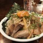 のスたOSAKA - 紀ノ川屋特製油そば(880円)
