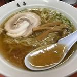 佐野らーめん 亀嘉 - 料理写真:一杯610円でめっちゃ美味しい!