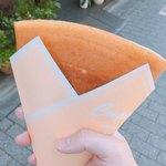 ラ クレープリー - レアチーズ(450円)+ナッツトッピング(50円)