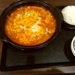 韓国料理 ハンアリ - チーズタッカルビ