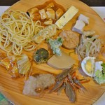 旬菜食健  ひな野 - 料理写真:色々とりました