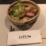 備長炭ステーキ炉 Sakai - 野菜サラダ