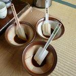 8505372 - 五平餅のタレ(3種類)