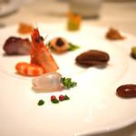 中国料理 礼華 四君子草 - 前菜盛り合わせ