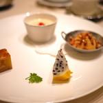 中国料理 礼華 四君子草 - デザート盛り合わせ