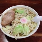 麺道楽紋次郎 - タンメン