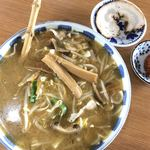 寿々喜そば屋 - 味噌ラーメン 辛味噌 自家製チャーシュー
